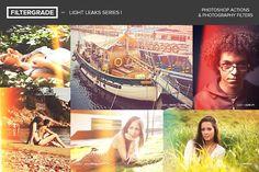 FilterGrade Light Leaks Series I by FilterGrade on @creativemarket