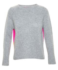 CHINTI AND PARKER - Colour-Block Back Cashmere Jumper