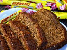 Recette de cake aux carambars au Thermomix TM31 ou TM5. Réalisez ce dessert en mode étape par étape comme sur votre appareil ! Cake Thermomix, Robot Thermomix, Flan, Meatloaf, Cake Pops, Banana Bread, Biscuits, Caramel, Muffins