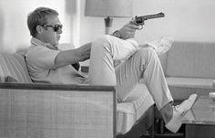 Steve McQueen - Take Aim, John Dominis Tavlor
