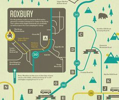 Beautiful Map Illustration Design Inspiration