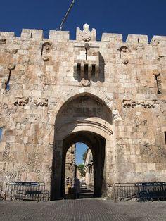 Lions gate, Jerusalem