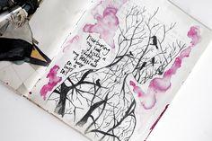 @kahlert | Season of Introspection | Get Messy Art Journal |