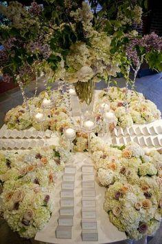 Wedding Escort Seating Card Table ♥