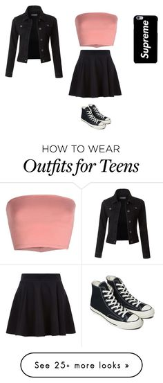 """""""Sans titre #13467"""" by ghilini-l-roquecoquille on Polyvore featuring Annarita N., Converse and LE3NO"""