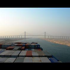 """@themarinerblog's photo: """"Suez throwback!!"""""""