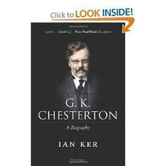 G. K. Chesterton: A Biography (9780199655762): Ian Ker: Books