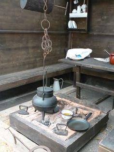 Cocina antigua española -- Old Spanish kitchen