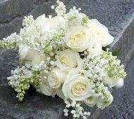 White winter wedding bridal bouquet  #white #wedding #flowers