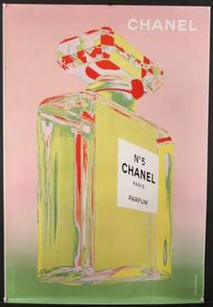 G.L.A.M DECOR ~ Chanel Number 5 Pink Green | Andy Warhol