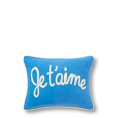 Just fell in love with the Je T'Aime Pillow Cover for $44 on C. Wonder! Click on the image and receive 20% off your next full-price purchase and find something you love too!