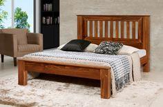 Camas Queen Size, Solid Oak Furniture, Wood Bed Design, Bedroom Closet Design, House Doors, Wood Beds, Cot, Bed Frame, Bedroom Furniture