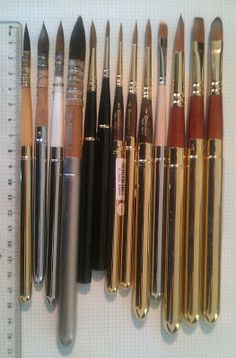 Plein air paint brushes--Jane Blundell's blog on watercolor--fun and useful reading
