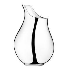 Mama Vase, stainless steel   Design Ilse Crawford for Georg Jensen