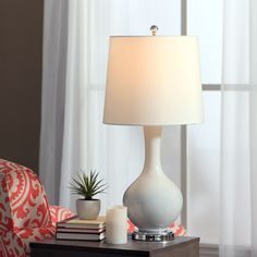 Auva White Table Lamp | Overstock™ Shopping - Great Deals on Table Lamps