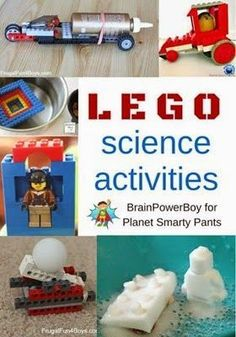 Use Lego bricks to help your kids explore science and introduce them to engineering