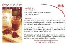 Pesto à l'urucum - superaliment de l'été http://ow.ly/yMgA4