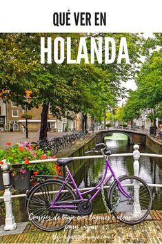 Te contamos nuestra experiencia viajando a Holanda con KLM y recorriendo algunas de las ciudades más bonitas e impresionantes del país, con consejos e ideas para viajar por tu cuenta y disfrutar a tope del viaje #viaje #holanda #lugares Travel Blog, My Destiny, Netherlands, Places To Visit, World, Wanderlust, Spaces, Lisbon, Travel Tips