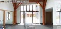Large entrance Entrance, Divider, Windows, Building, Room, Inspiration, Furniture, Home Decor, Bedroom