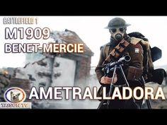 Battlefield 1 Hotchkiss M1909 Benet-Mercié Ametralladora Ligera