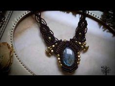 Macrame School Jewelry and Tutorials - YouTube