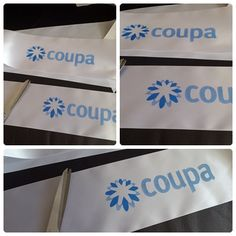 #official #opening #printed #branded #ribbon