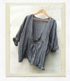 cheese-cloth linen top. so lovely!