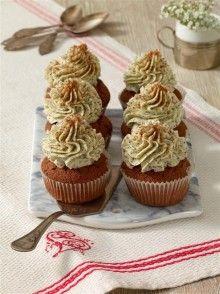 Makové espresso cupcakes