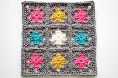 147/365 - Nine Patch Granny Square by craftyminx, via Flickr