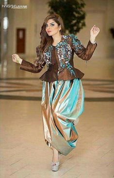 tenue traditionnelle Algérienne #algeriantraditionaldresses Algeria-Algérie