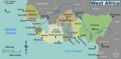 Map West Africa