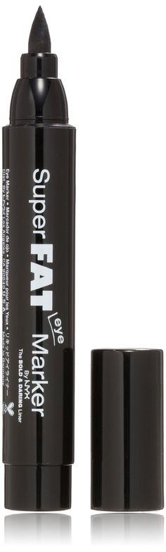 NYX Super Fat Eye Marker,SFEM01 Carbon Black