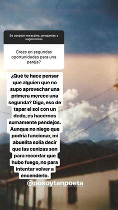 Sad Texts, Cute Texts, True Quotes, Book Quotes, Quotes En Espanol, Tumblr Love, Love Text, Love Phrases, Instagram Story Ideas