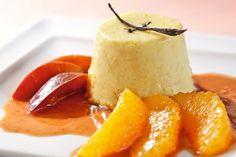 Orangenpudding mit Zwetschgen-Orangen-Kompott - Annemarie Wildeisen's KOCHEN