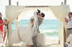 Pretty Altar Alternatives for Beach Weddings
