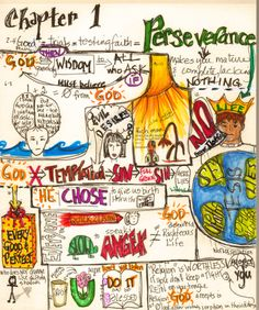 Not Just Any Bee - Doodle Art: The Book of James -I like this idea for Bible class! Bible Study Journal, Scripture Study, Bible Art, Scripture Journal, Bible Verses, Scripture Doodle, Scripture Reading, Scriptures, St Francis Quotes