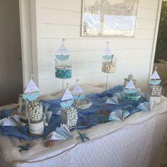 Confettata battesimo tema mare