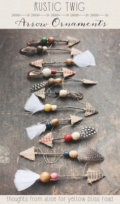 10 Rustic Christmas Tree Ornaments You Can Make Yourself - DIY Christmas Decorat. 10 Rustic Christmas Tree Ornaments You Can Make Yourself – DIY Christmas Decorations Rustic Christmas Ornaments, Christmas Diy, Diy Ornaments, Christmas Projects, Christmas Countdown, Christmas Recipes, Western Christmas Decorations, Western Christmas Tree, Twig Christmas Tree