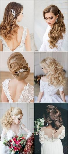 Long Bridal Wedding Hairstyles and Updos / http://www.deerpearlflowers.com/striking-long-wedding-hairstyle-ideas/