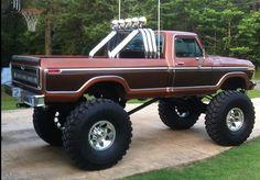 Sexy ol truckssss #ford