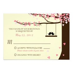 See MoreLove Birds Falling Hearts Oak Tree RSVP Custom Invitationswe are given they also recommend where is the best to buy