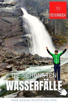 Hach, wie wahnsinnig schön sind die #Wasserfälle in #Österreich ❤️ Während mich die Einen aufgrund ihrer großen Fallhöhe begeistert haben, waren andere Wasserfälle aufgrund ihrer Lage oder der einmalig schönen Natur rundherum einen Ausflug wert. Verteilt über ganz Österreich haben wir nun schon sehr viele wunderbare Wassererlebnisse gehabt. Lass dich für deinen Österreich Urlaub inspirieren! #tipps #ausflug #wasserfall #dieschönsten #salzburg #salzburgerland #krimml #krimmlerwasserfälle