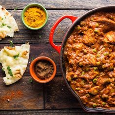 quick Chicken Tikka Masala 2 / Photo by Chelsea Kyle, food styling by Rhoda Boone Chicken Tikka Masala, Chicken Tika, Indian Chicken, Food Styling, Healthy Chicken Dinner, Masala Recipe, Indian Dishes, Pasta, Food Menu