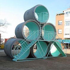 -play equipment, HYPERTUBE/ PKMN y Taller de Casquería