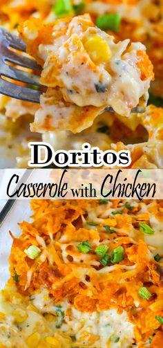Doritos Casserole with Chicken | Delicious Recipes