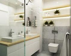 Łazienka styl Skandynawski - zdjęcie od Grafika i Projekt