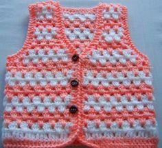 Most current Images Crochet baby vest Style tig isi bebek yelek modelleri – – Gilet Crochet, Crochet Vest Pattern, Crochet Baby Cardigan, Crochet Baby Clothes, Crochet Jacket, Baby Girl Patterns, Baby Pullover, Toddler Girl Dresses, Baby Outfits
