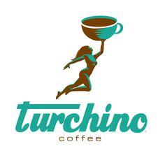 Turchino Coffe logo designed by Jeff Moss - Moss Creative, LLC