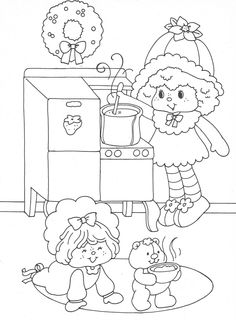 Vintage Kenner / American Greetings Strawberry Shortcake - Strawberry Shortcake's Christmas Coloring Fun Colouring Book   _____________________________ (Purchased from Etsy as a digital book, but I'm 99% certain it was taken from Bonnie Jones' Picasa, and the Etsy seller just left out the coloured pages.  So mad about this. https://picasaweb.google.com/116132144965793723825/USEDCOLORINGBOOKStrawberryShortcakeChristmasFun?noredirect=1#)