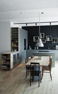 Contemporary Kitchens 311100286756207969 - Repisas pared Source by lpresa Kitchen Room Design, Modern Kitchen Design, Home Decor Kitchen, Kitchen Furniture, Kitchen Interior, New Kitchen, Home Kitchens, Küchen Design, House Design